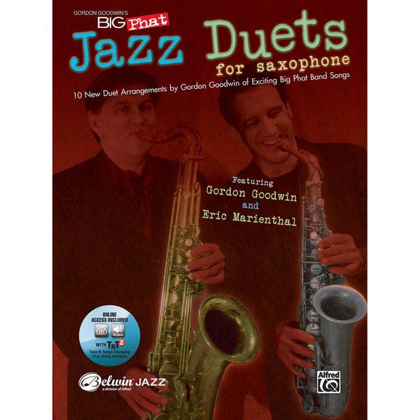 Gordon Goodwin Jazz Sax Duets, Book and CD