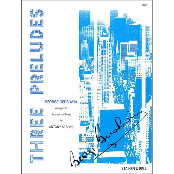 Three Preludes - Gershwin - Trumpet and piano