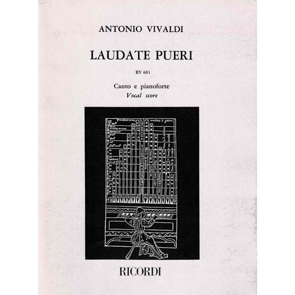 Vivaldi - Laudate Puero - RV 601 - Voice and Piano