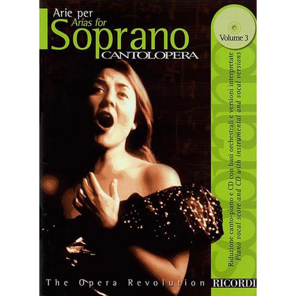 Arie per Soprano Cantolopera Vol. 3