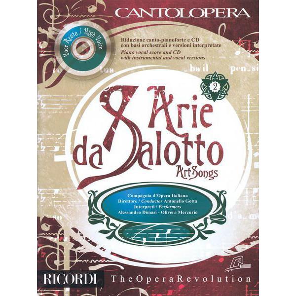 Arie da Salotto Vol 2 - High Voice