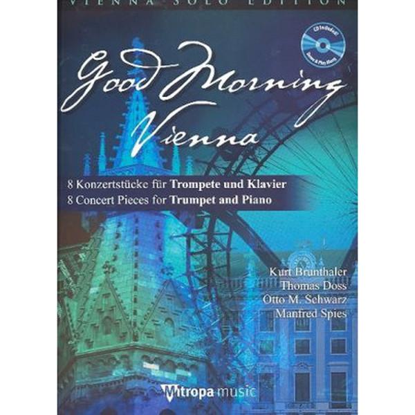 Good Morning Vienna - Trompet m/CD og Pianoakk