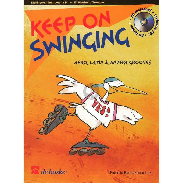 Keep on swinging - trompet/klarinett m/cd
