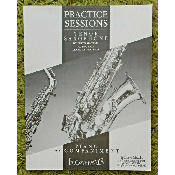 Practice Sessions for Tenor Saksofon