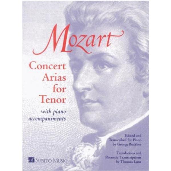 Mozart - Concert Arias for Tenor