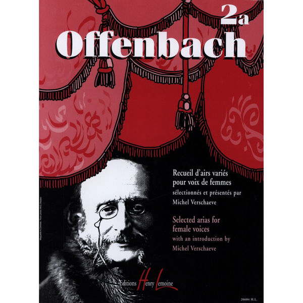Offenbach - Selected arias for female voice