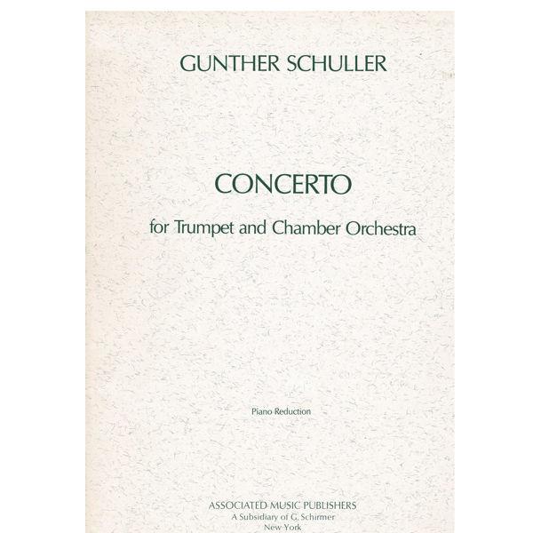 Trompetkonsert - Schuller