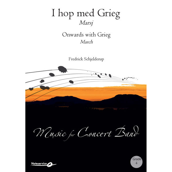 I hop med Grieg - Marsj - CB4 Fredrick Schjelderup