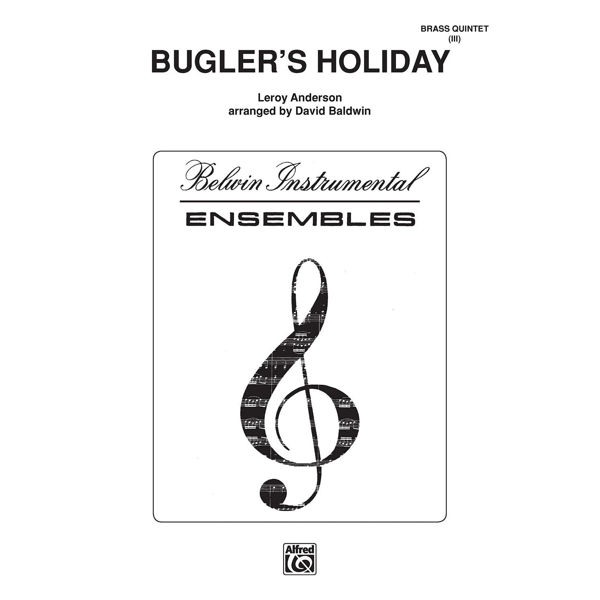 Bugler's Holiday, Anderson - Trompet m/piano