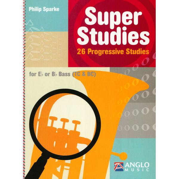 Super Studies - 26 Progressive Studies for Tuba Eb/Bb - TC/BC, Philip Sparke