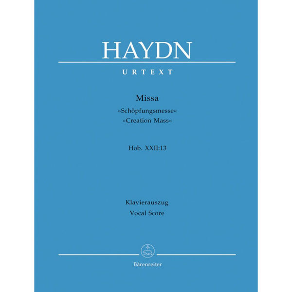 Haydn - Missa Hob. XXII:13 - Vocal Sore/Klavierauszug
