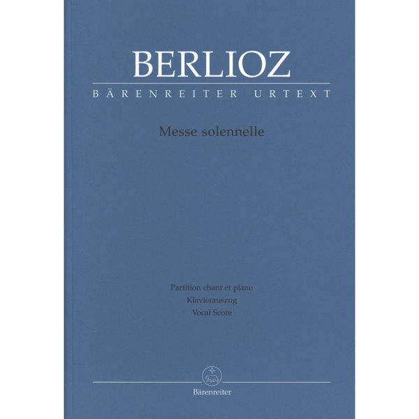 Berlioz - Messe Solennelle - Vocal Score