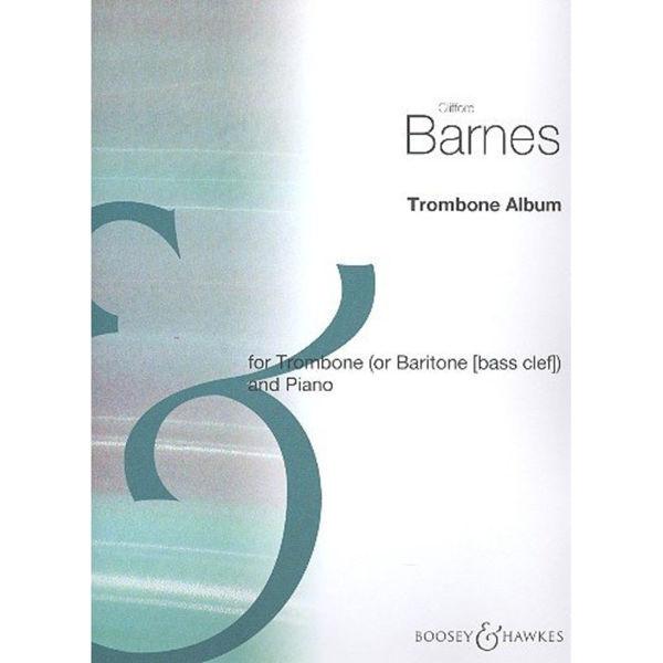 The Clifford Barnes Trombone album