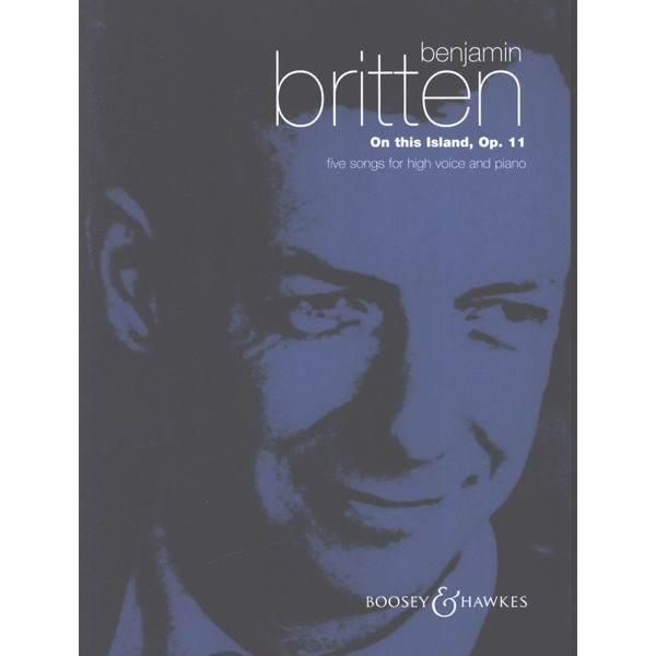 On this Island - B.Britten - High Voice and Piano