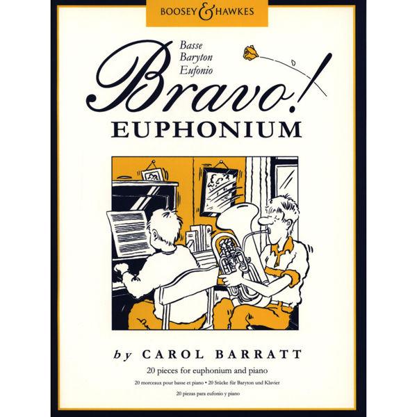 Bravo! Euphonium - More than 25 pieces by Carol Barratt