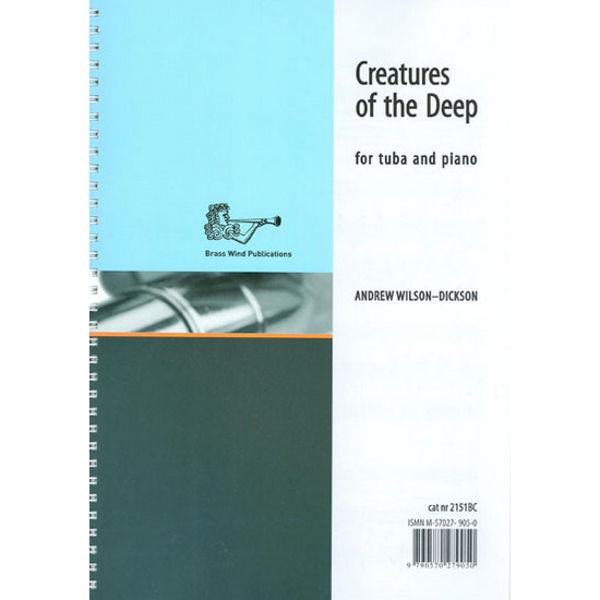 Creatures of the Deep, Wilson Dickson. Eb Tuba/Piano