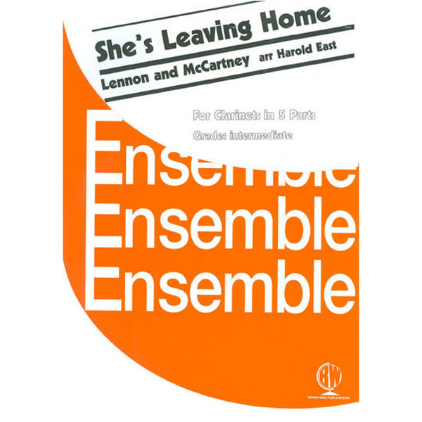 She's Leaving Home, Clarinets - 5 parts