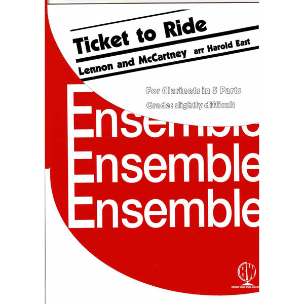 Ticket to Ride, Clarinets - 5 parts