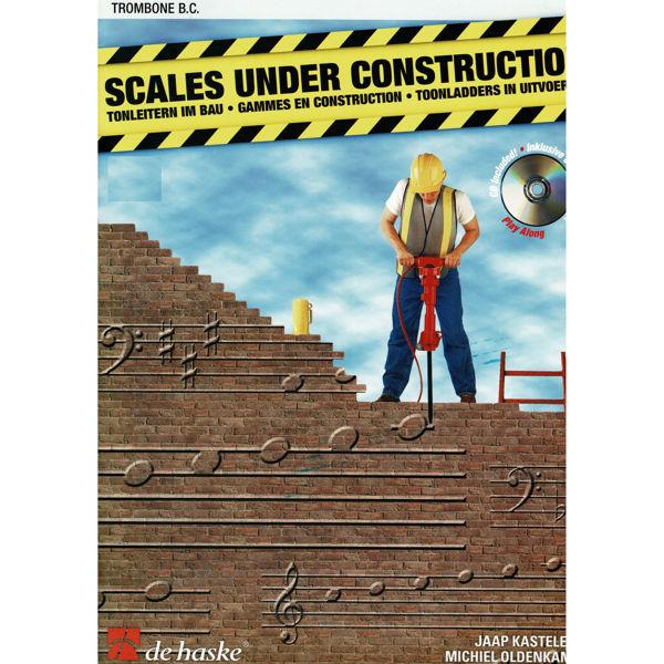 Scales under Construction, Book+CD, Kastelein/Oldenkamp. Trombone BC