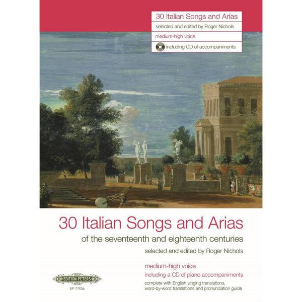 30 Italian Songs and Arias - Medium-high Voice