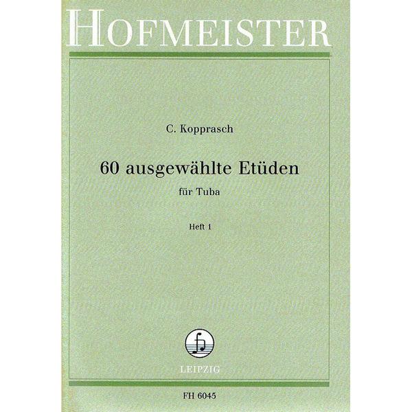 Kopprasch 60 ausgewählte Etüden für Tuba vol 1