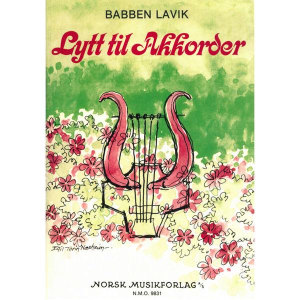 Lytt til akkorder, Bok m/CD - Babben Lavik