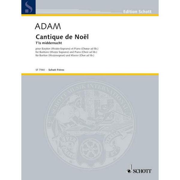 Cantique de noel (Adams julesang) - Baryton/Mezzo Sopran stemme