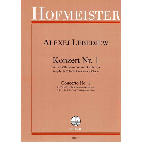 Lebedew - Konzert-Allegro für Tuba und Klavier