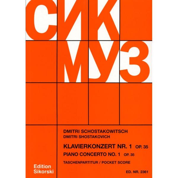 Schostakowitsch Piano Concerto No. 1, Opus 35. Solo Trumpet in Bb / Shostakovich