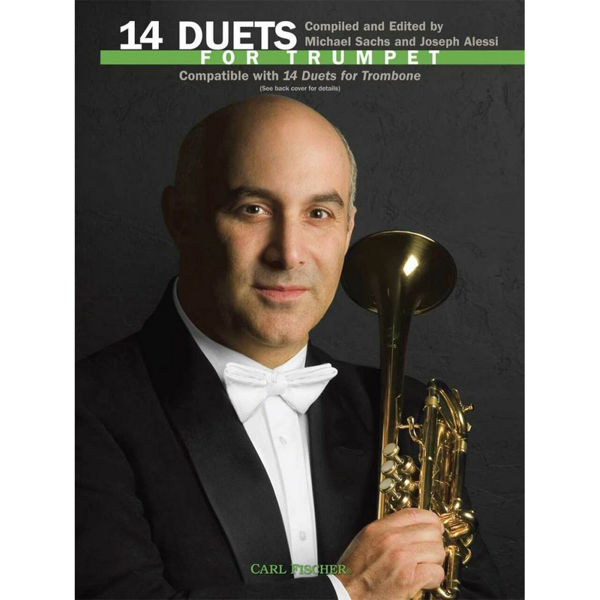 14 Duets for Trumpet, Ed. Sachs/Alessi