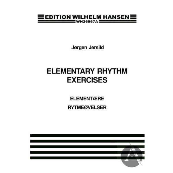 Elementære Rytmeøvelser - Elementary Rhythm Exercises - Jørgen Jersild