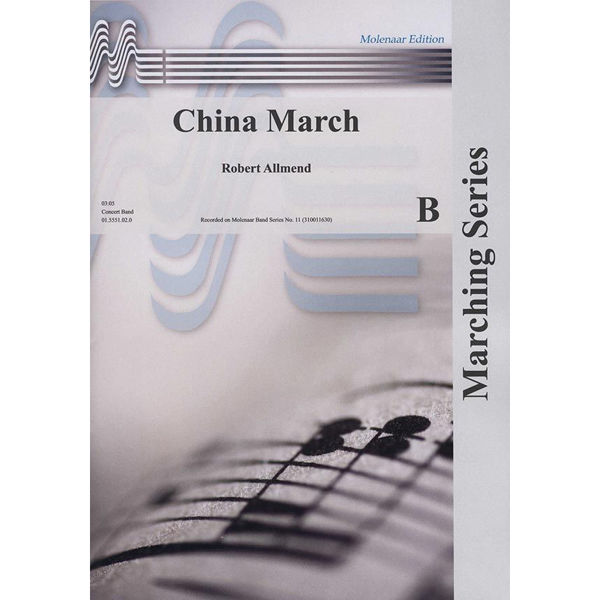 China March, Robert Allmend. Concert Band