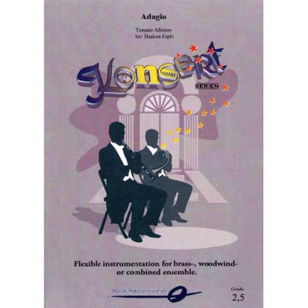 Adagio FLEX 7 SCORE Tomasi Albinoni/arr. Haakon Esplo