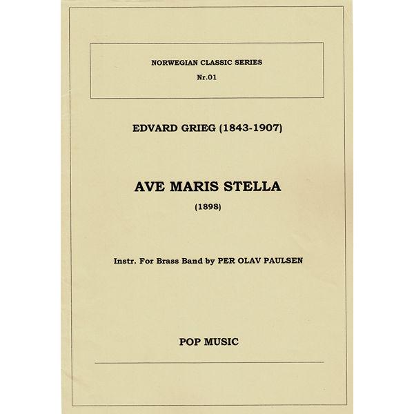 Ave Maris Stella (Grieg), Per Olav Paulsen - Brass band