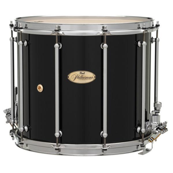 Skarptromme Pearl Philharmonic PHF1412/C103, Field Drum 14x12, 6-Ply Maple, Chrome Hwd, Gloss Piano Black