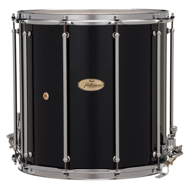 Skarptromme Pearl Philharmonic PHF1616/C103, Field Drum 16x16, 6-Ply Maple, Chrome Hwd, Gloss Piano Black