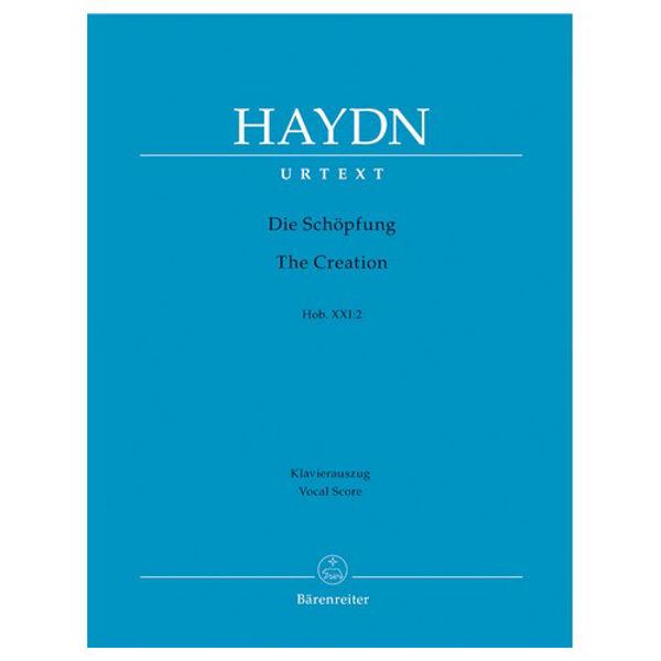 The Creation/Die Schöpfung, Joseph Haydn (Vocal Score) (Orchestra/Chorus/Soloists)