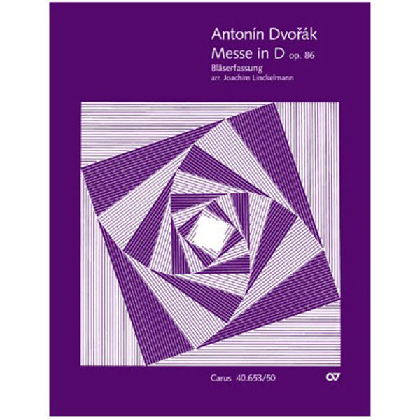 Mass in D major Op. 86, Antonin Dvorak. Full Score