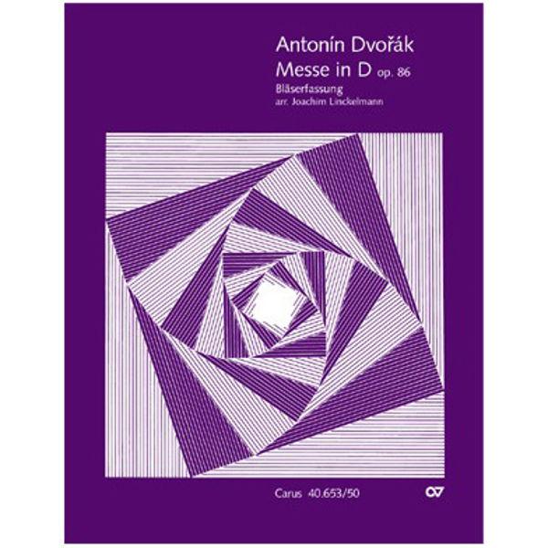 Mass in D major Op. 86, Antonin Dvorak. Vocal Score