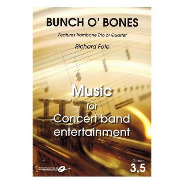 Bunch O' bones CB3,5 Trombone Trio or Quartet, Richard Fote arr Yngve Nikolaisen