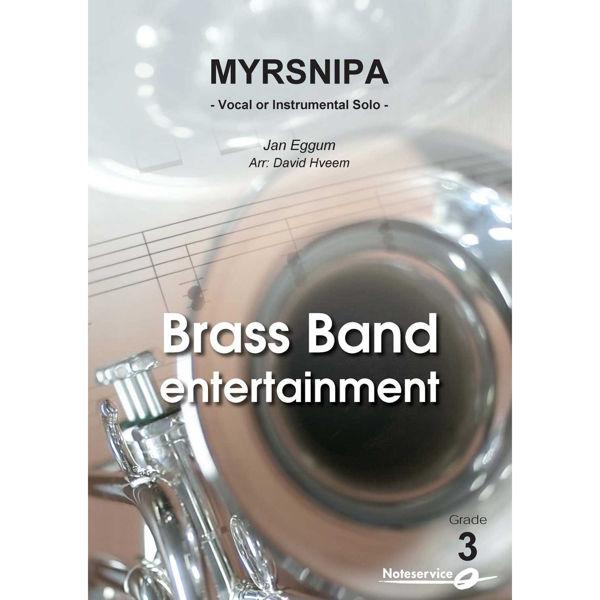Myrsnipa - Vokal eller instrumental Solo Brass Band BB3, Jan Eggum arr David Hveem