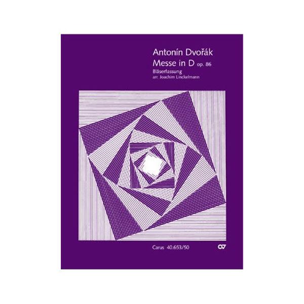 Mass in D major Op. 86, Antonin Dvorak. Choral Score
