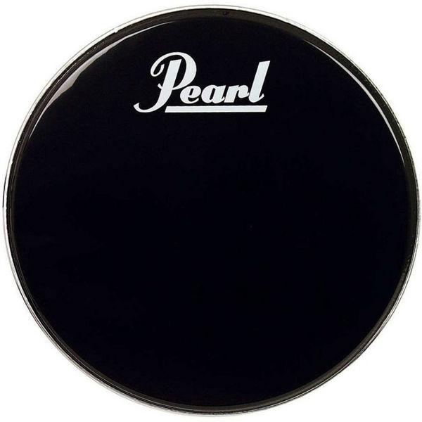 Stortrommeskinn Pearl, EB-20BDPL, Black m/Pearl Logo 20