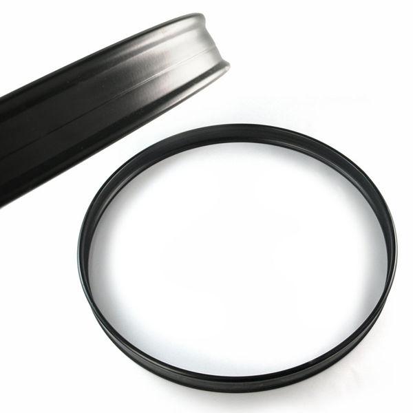 Strammering Pearl RIM24RB, 24, Metall, Black