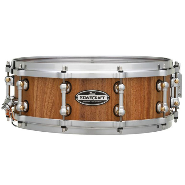 Skarptromme Pearl Stave Craft SCD1450MK/186, 14x5, Makha Hand Rubbed Natural Maple