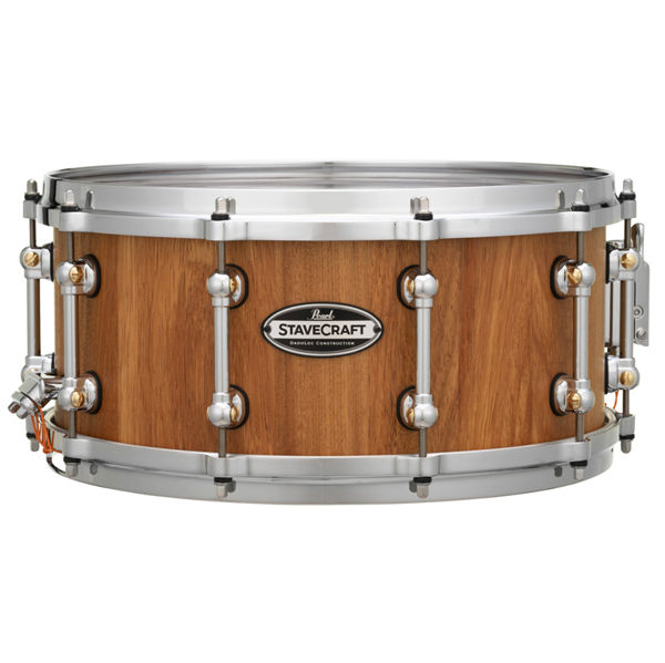 Skarptromme Pearl Stave Craft SCD1465MK/186, 14x6,5, Makha Hand Rubbed Natural Maple