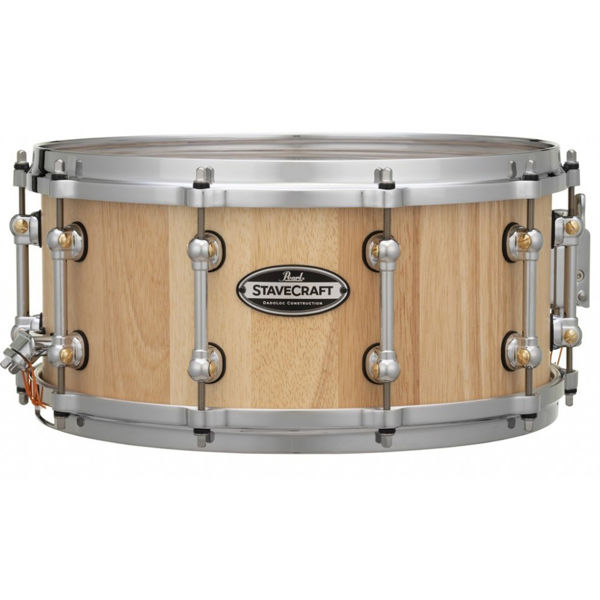 Skarptromme Pearl Stave Craft SCD1465TO/186, 14x6,5, Thai Oak Hand Rubbed Natural Maple