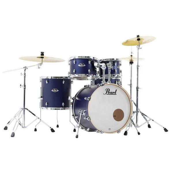 Slagverk Pearl Export EXL705NBR/C219, 20 Indigo Nights m/Stativer og Cymbaler