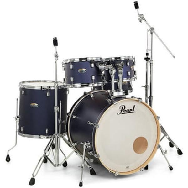 Slagverk Pearl Export EXL725SBR/C219, 22 Indigo Nights m/Stativer og Cymbaler
