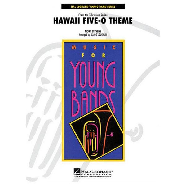 Hawaii Five-O Theme Mort Stevens arr Sean O'Laoughlin, Concert Band